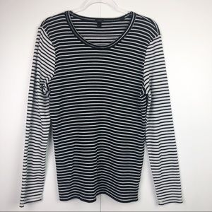 J.Crew Striped Long Sleeve Thermal